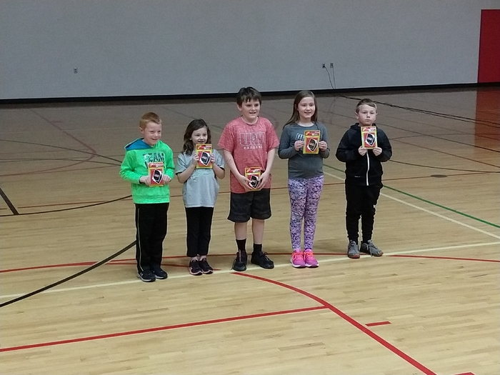 Math award winners