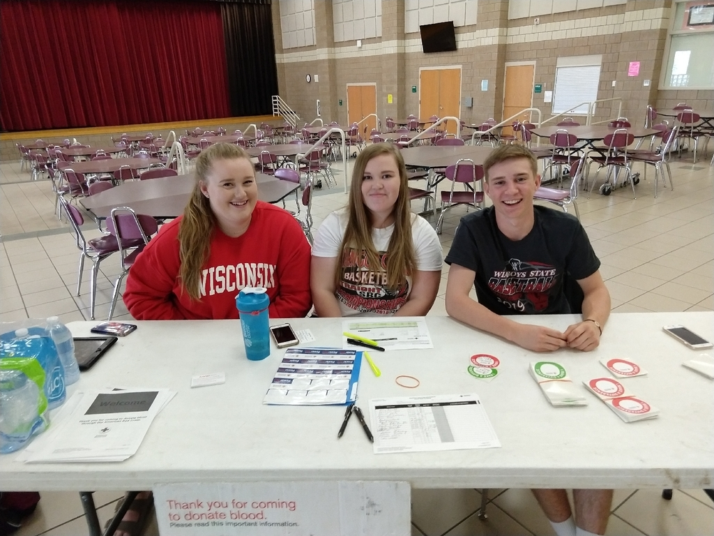 BHS Blood Drive Students