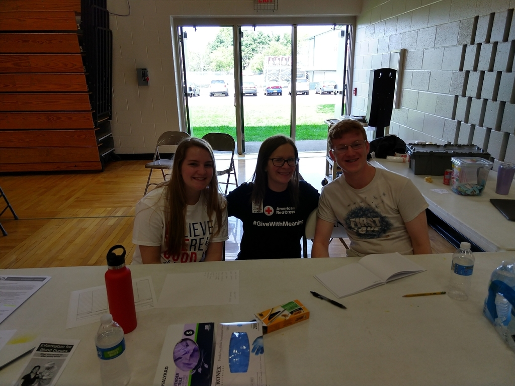 BHS Blood Drive helpers