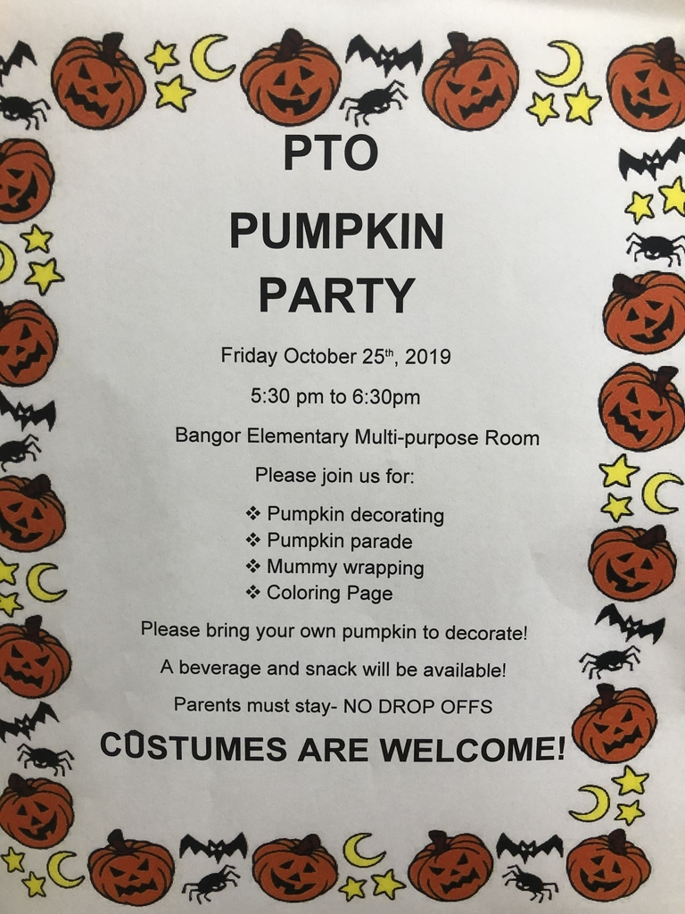 Pumpkin party today